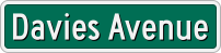 Davies Avenue sign.png