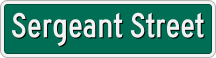 Sergeant Street sign.png