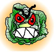 I am the Fiend of the Ninth Cabbage!! Fear me!!