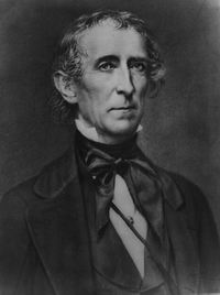 President John Tyler signed the Executive Order that created the OSI.