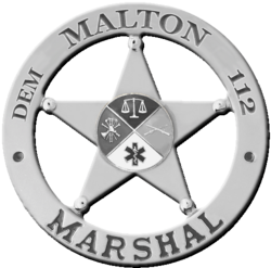 Malton Marshal Badge